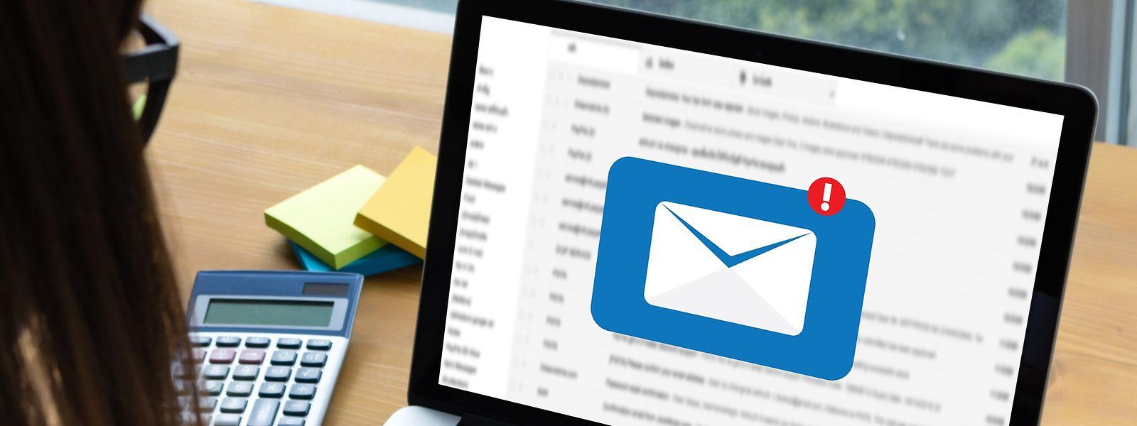 Les banques ne demandent jamais d'informations confidentielles par e-mail.