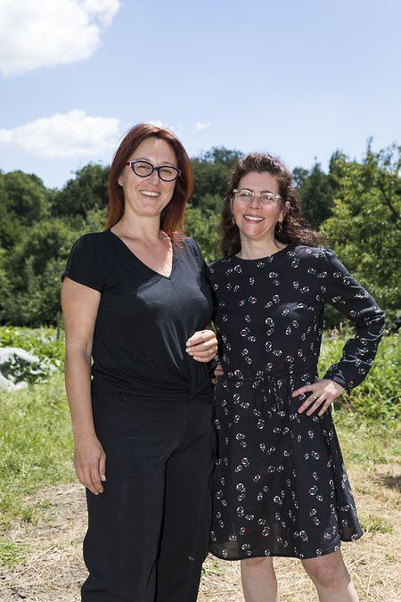 Karine Paris et Tania Walisch, du CELL.