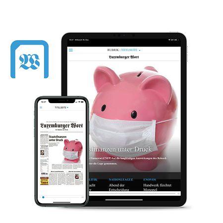 Mit der E-Paper App können Sie die Zeitung bequem am Handy oder auf dem Tablet lesen.