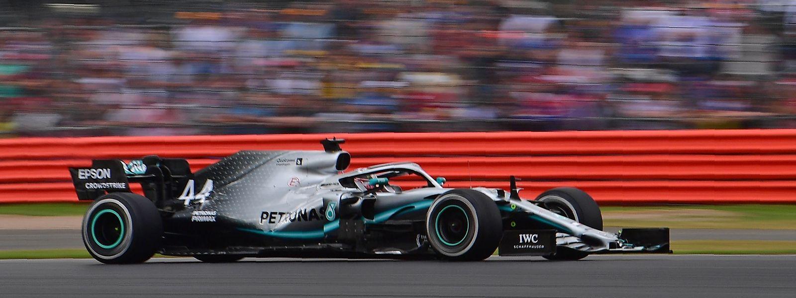 Lewis Hamilton gewinnt zum sechsten Mal in Silverstone.