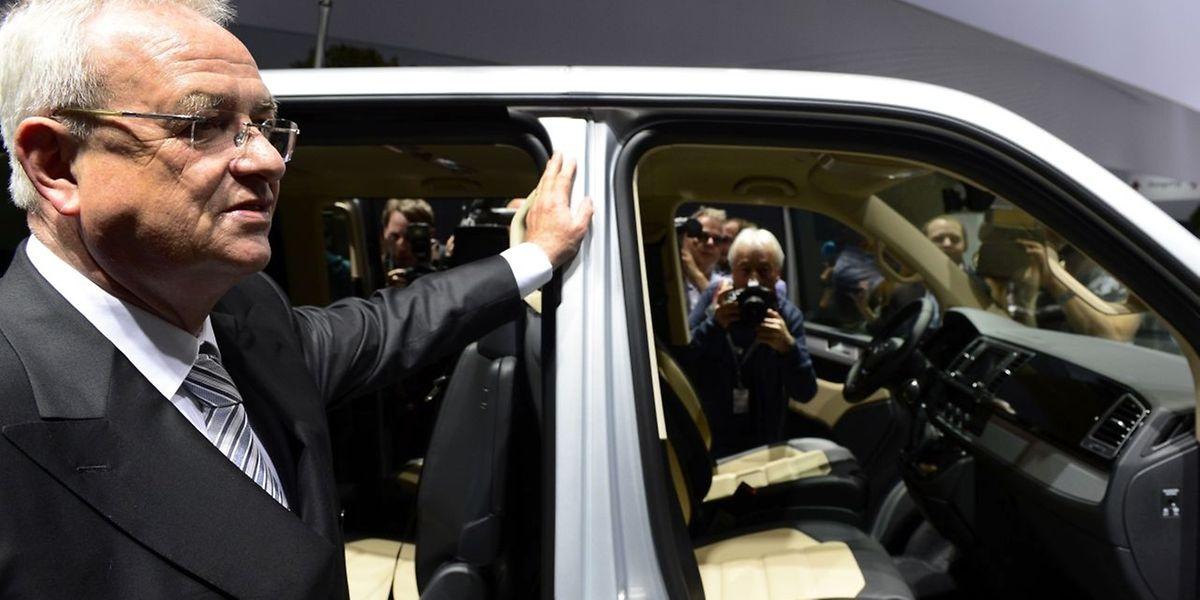 Martin Winterkorn demitiu-se da Volkswagen