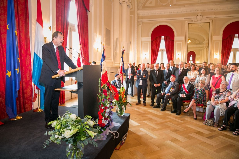 L'ambassadeur de France au Luxembourg, Bruno Perdu.