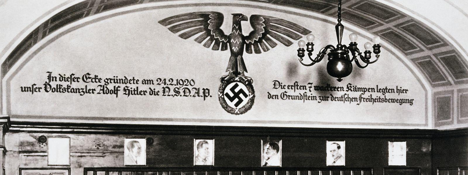Im Münchner Hofbräuhaus wurde die NSDAP vor genau 100 Jahren am 24. Februar 1920 gegründet.