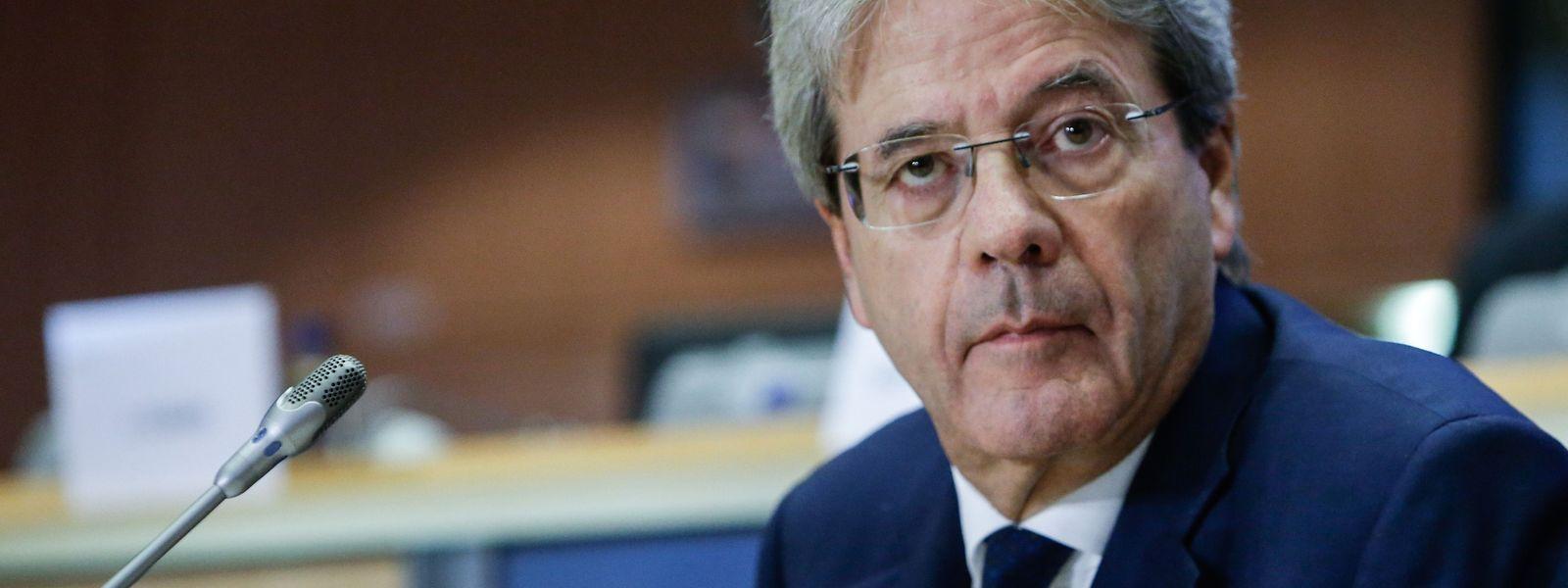 Paolo Gentiloni will mehr Mehrheitsentscheidungen in der EU-Steuerpolitik.