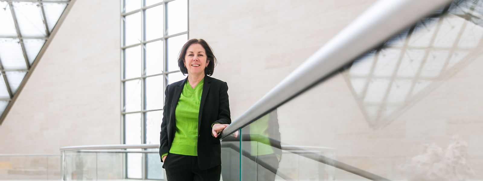 Suzanne Cotter, directrice du Mudam