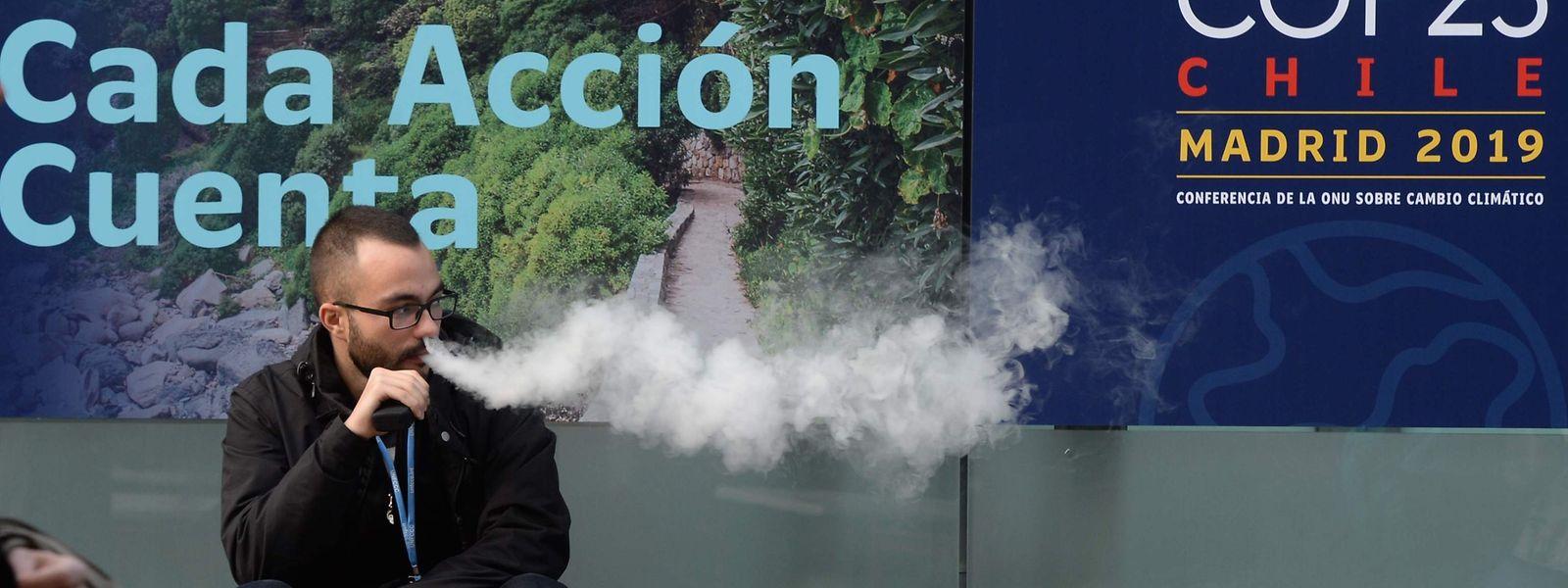 Warten auf weißen Rauch: Einmal mehr wird bei der Weltklimakonferenz ums Geld gestritten.