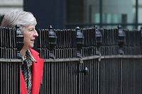 Entscheidende Woche für Theresa May one-in. (Photo by Daniel LEAL-OLIVAS / AFP)