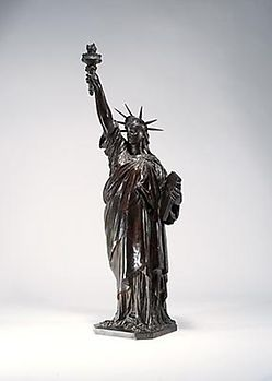 Bartholdé's final proof of the Statue of Liberty, also known as Liberté éclairant le Monde