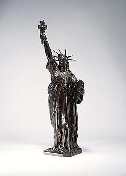 Bartholdé's final proof of the Statue of Liberty, also known as Liberté éclairant le Monde