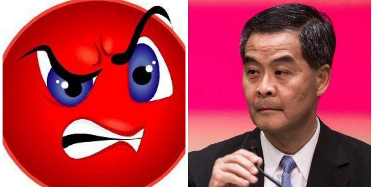 Sur Facebook Le Chef Du Gouvernement De Hong Kong Recoit 133 000 Emoticones En Colere