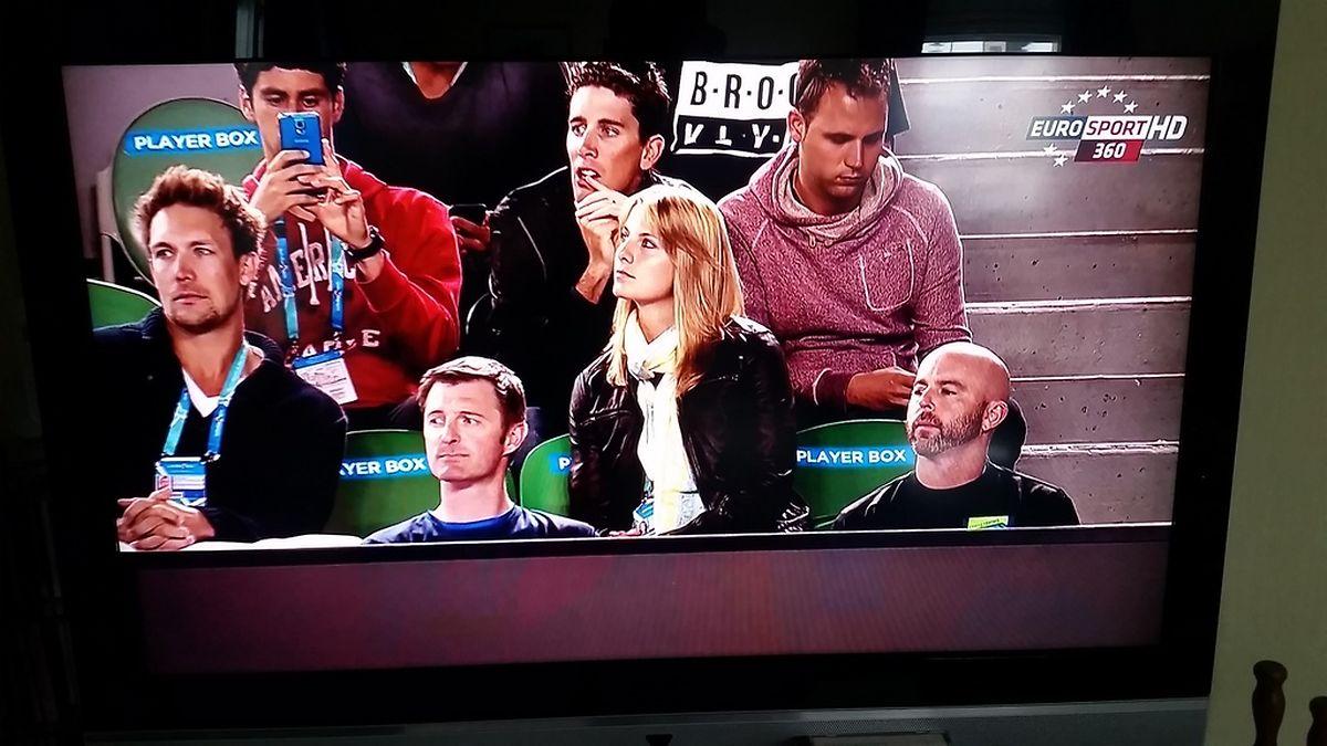 Auch Laurent Didier und Mandy Minella weilten unter den Zuschauern.