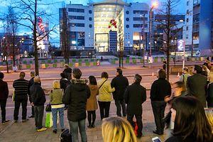 L'Utopolis et le Auchan Kirchbeg avaient été évacués.