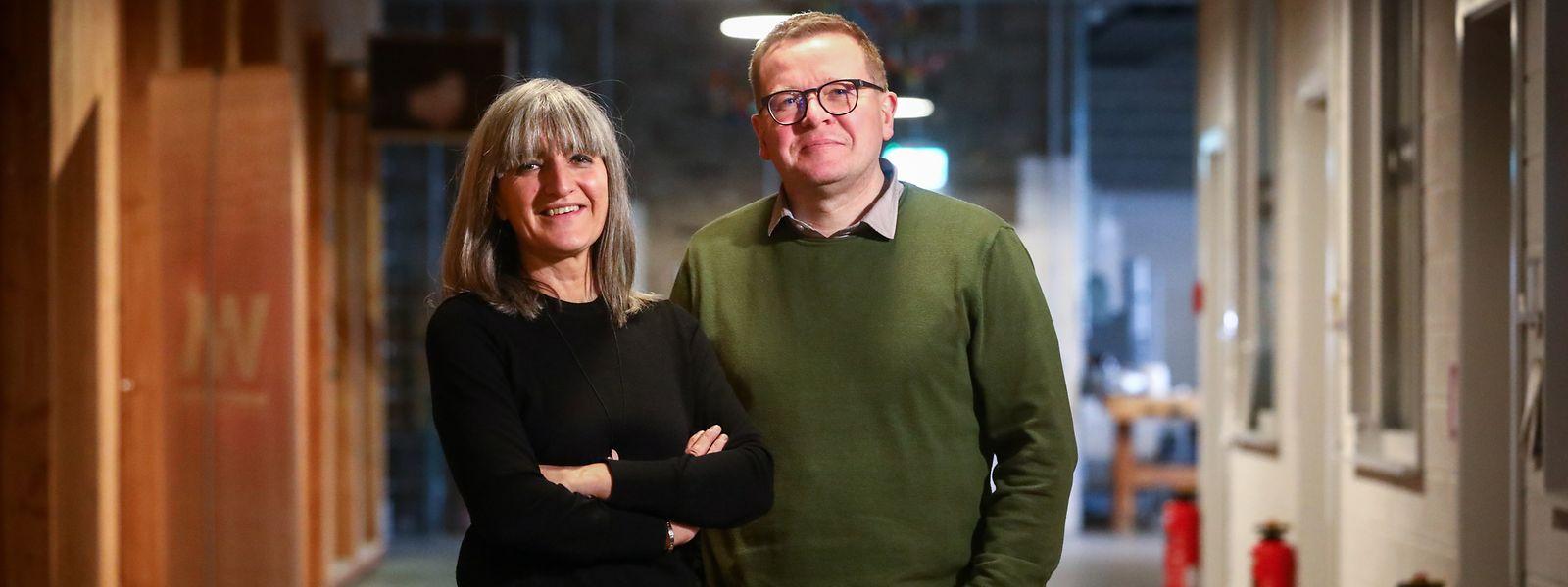 Nancy Braun et Christian Mosar, le nouveau duo à la tête de Esch 2022.