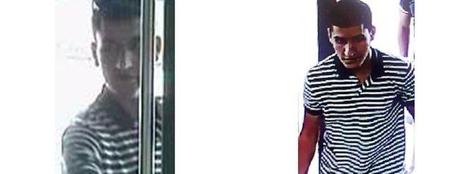 Der flüchtige Younes Abouyaaquoub auf Fahndungsfotos der spanischen Polizei.
