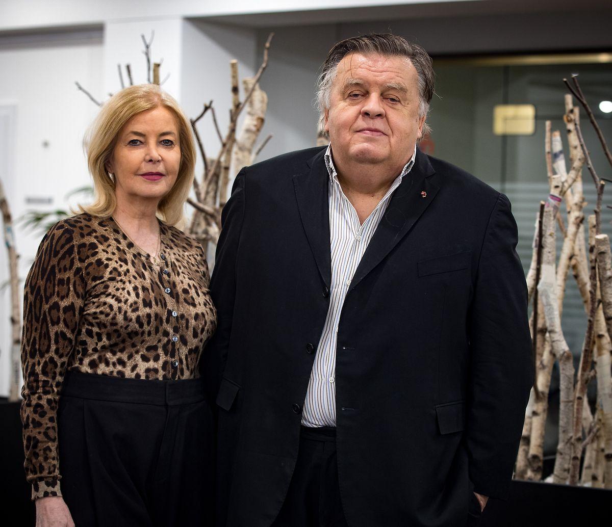 Lernten sich bei RTL in Luxemburg kennen und sind seit 25 Jahren verheiratet: Danièle Milbert und Helmut Thoma.