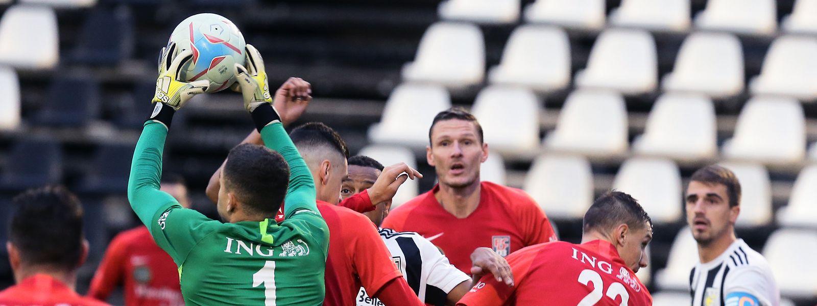 C'est l'heure du derby pour Andrea Amodio et les Differdangeois ici face à la Jeunesse.