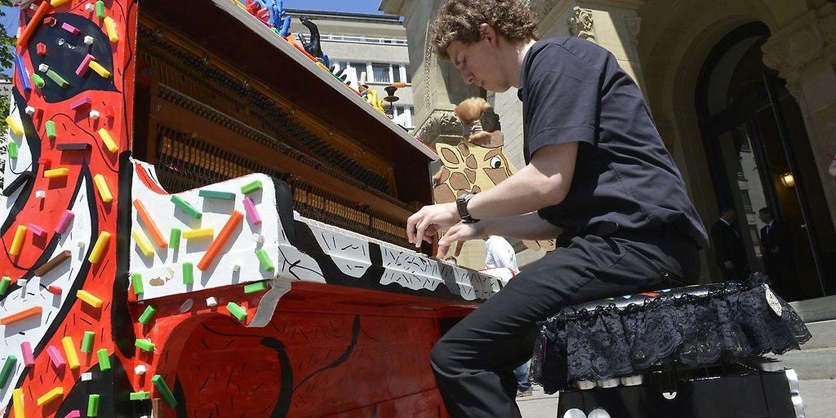 My Urban Piano offre la possibilité à qui le souhaite de se mettre au clavier dans les rues de la ville, en juin.