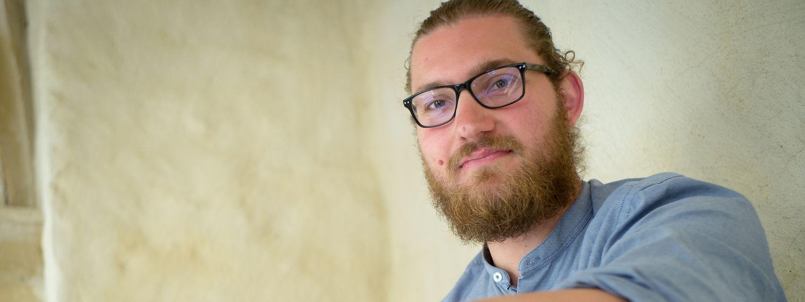 Nik Bohnenberger möchte sich in Zukunft intensiver mit Musiktheater beschäftigen können.
