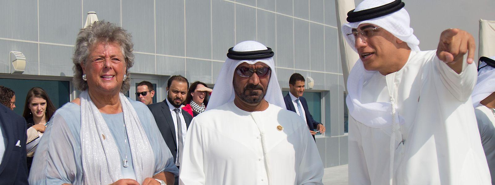 Maggy Nagel compte bien retrouver le site de l'Exposition universelle de Dubaï en mai prochain.