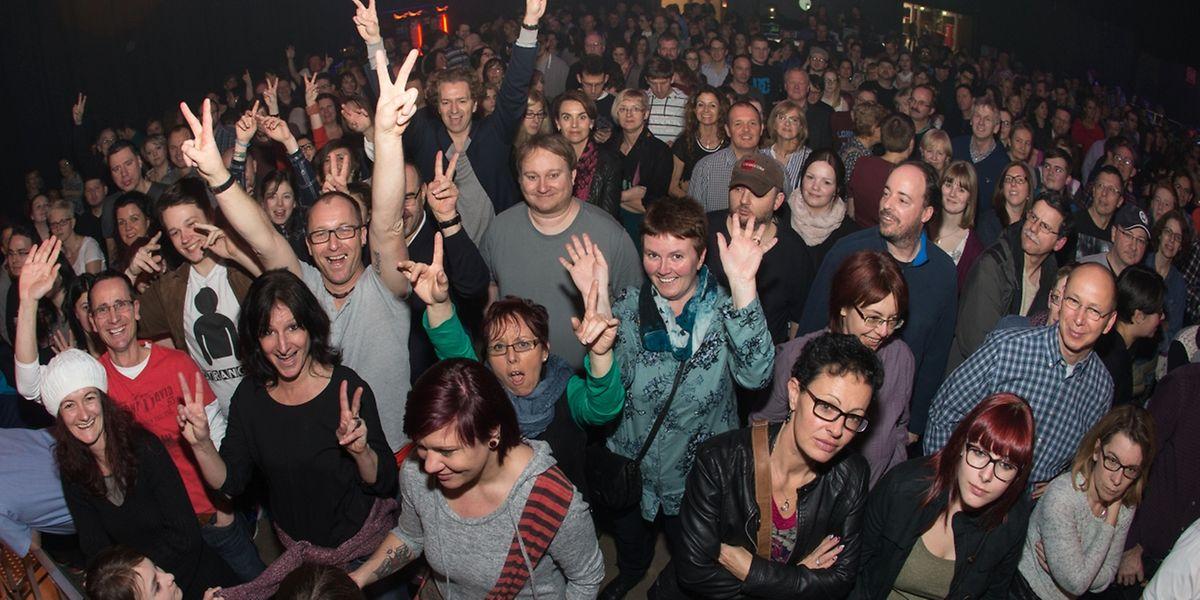 Heinzmann-Fans aus Luxemburg erlebten einen Tournee-Auftakt, der allen Erwartungen entsprach.