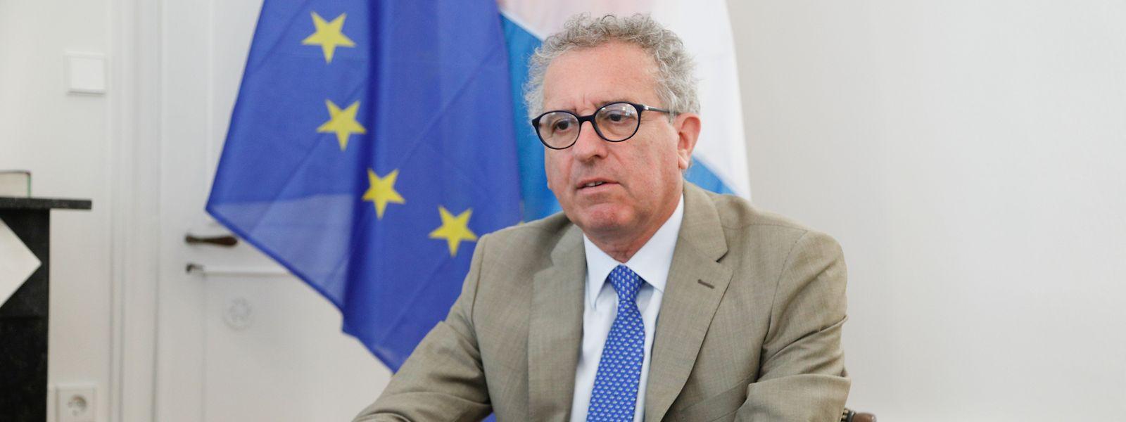 «Nous sommes déjà leader dans la finance verte et soutenable», assure Pierre Gramegna, ministre des Finances.