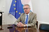 """Pierre Gramegna: """"Nous sommes déjà leader dans la finance verte et soutenable."""""""