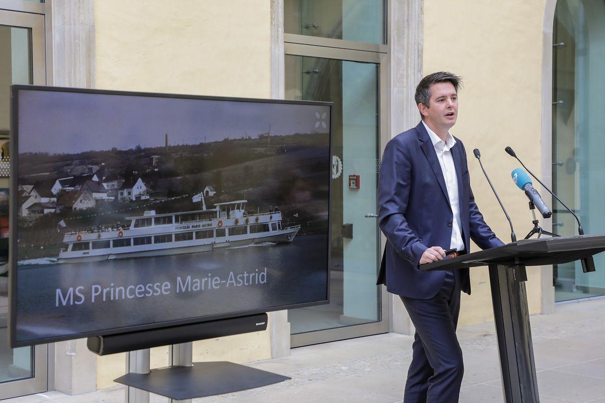 Der Erinnerungstourismus soll ein wichtiges Standbein im Luxemburger Angebot werden. So wird das Original-Marie-Astrid-Schiff, auf dem die europäischen Verträge unterzeichnet wurden, zum Museumsboot umgebaut, das auch auf Reisen gehen kann, so Lex Delles.