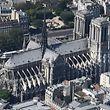 Ein kunstgeschichtliches Kleinod: Die frühgotische Kathedrale Notre-Dame de Paris. Ihr Bau begann im 12. Jahrhundert.