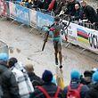 Scott Thiltges (L - Luxembourg #53) lief die letzten Meter vor seiner Herausnahme zu Fuss/ Radsport, Velo, Cyclo-Cross, Saison 2017 / 29.01.2017 /UCI Cyclo-Cross World Championships 2017, Bieles, Weltmeisterschaft - Männer Elite, Men Elite / Belvaux, Belval, Luxemburg /Foto: Ben Majerus