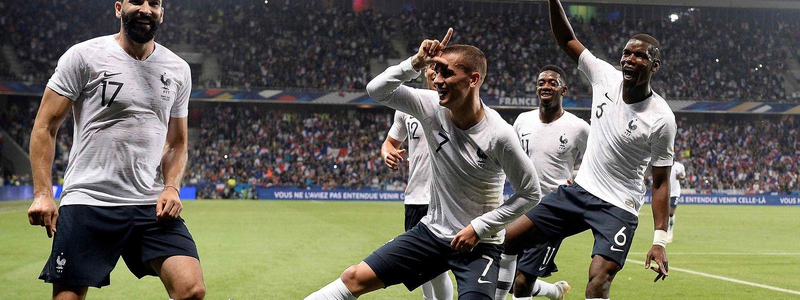 A seleção francesa é apontada como uma das principais favoritas ao título.