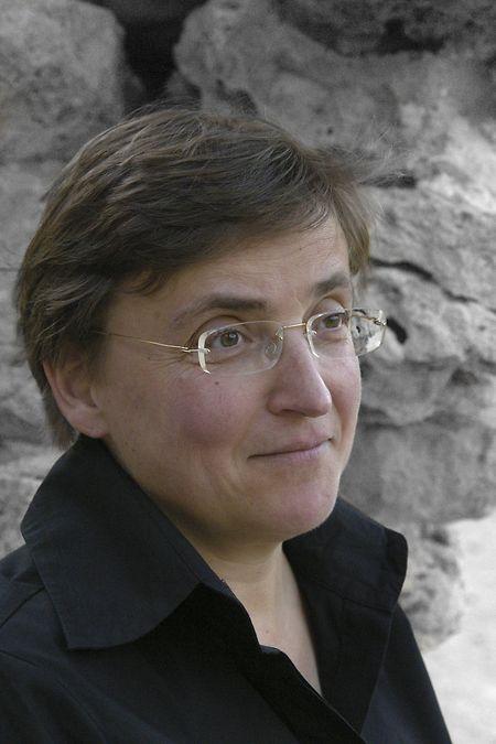 Ulrike Bail, Gewinnerin des diesjährigen Literaturpreises. Ihre literarische Vorliebe gilt der Lyrik.