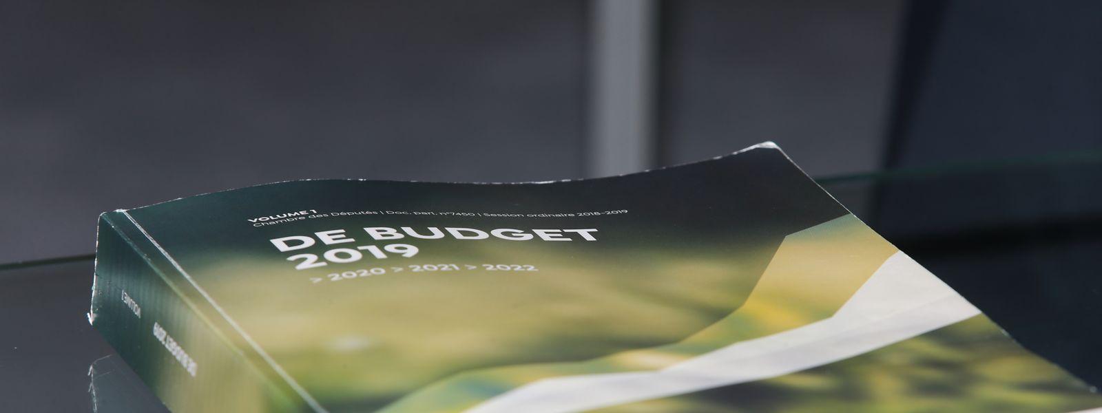 Politik, Budget, DP, André Bauler Foto: Anouk Antony/Luxemburger Wort