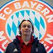 Ryan Johansson ist der erste Luxemburger, der das Trikot des FC Bayern trägt.