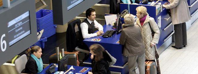 Der Flughafen Findel verzeichnet einen neuen Passagierrekord.