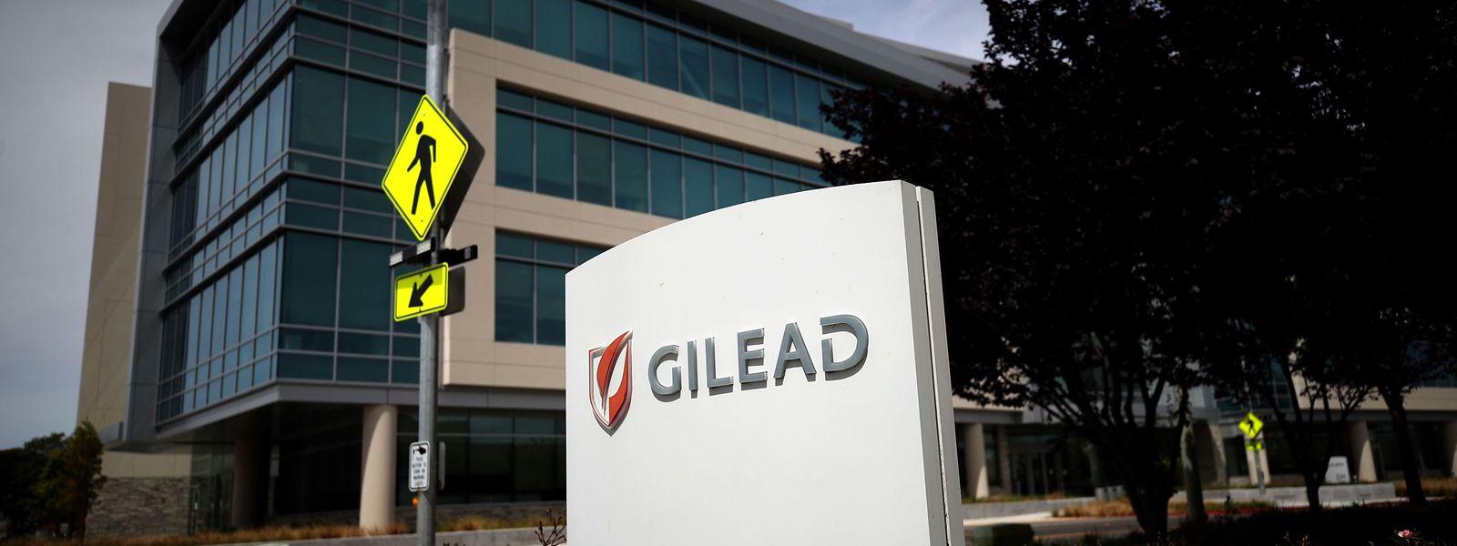 Le siège de Gilead Sciences à Foster City en Californie. Le labo américain développe le médicament expérimental remdesivir.