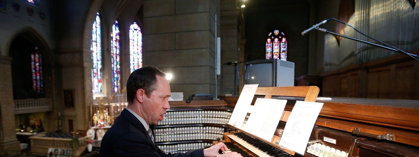 Seit 10 Jahren ist Paul Breisch Domorganist.