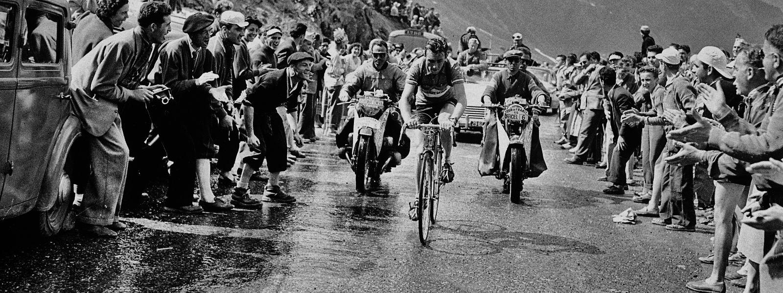 Charly Gaul holte 1958 den Sieg bei der Tour de France.