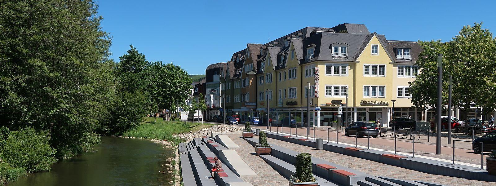 So wie die Alzette durch Esch fließt, zieht die Lieser durch Wittlich. Beide Städte haben noch weitere Gemeinsamkeiten. So hatte auch Wittlich Probleme mit Leerständen in der Innenstadt.