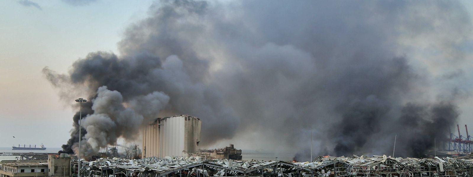 Bei der verheerenden Detonation am 4. August 2020 kamen mehr als 190 Menschen ums Leben.