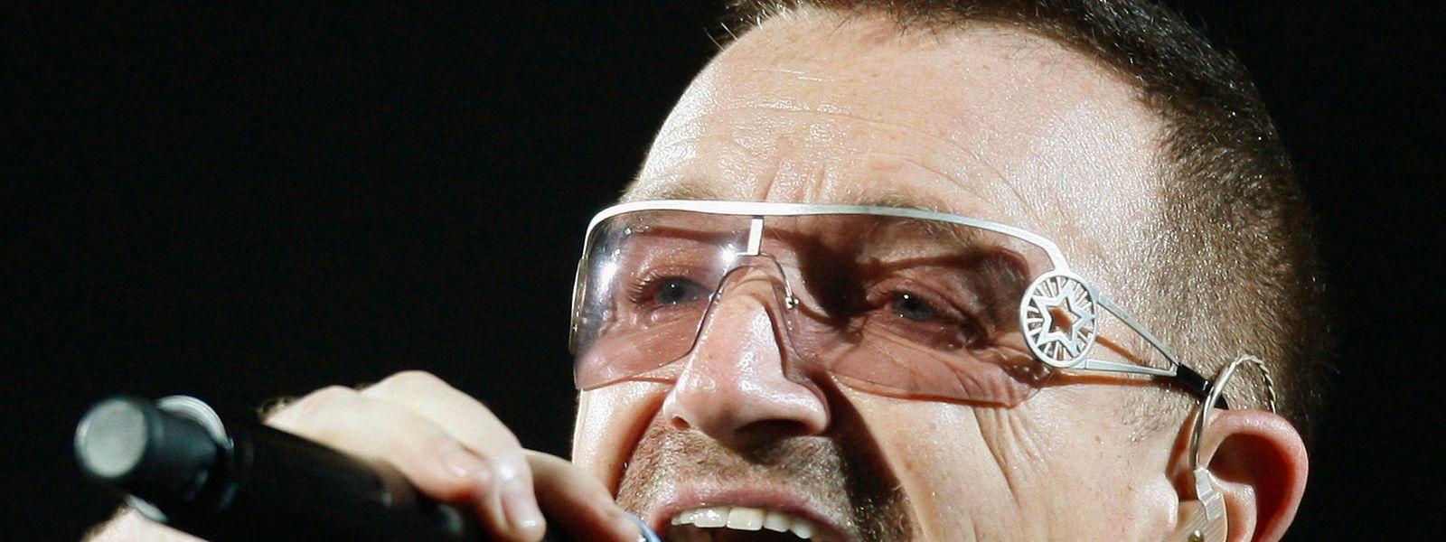 Bono wird nicht mit seiner U2 in St.Louis auftreten.