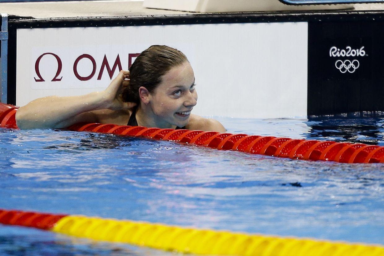 Erfolg auf ganzer Linie: Meynen hat bei den 50 m Freistil ihren Landesrekord noch einmal verbessern können.