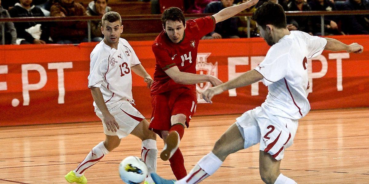 2713455c1b1e0 Selecção portuguesa de futsal inicia estágio com título europeu em vista