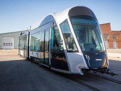 Tram, Tramway, Zaragoza, Luxtram, Foto Lex Kleren