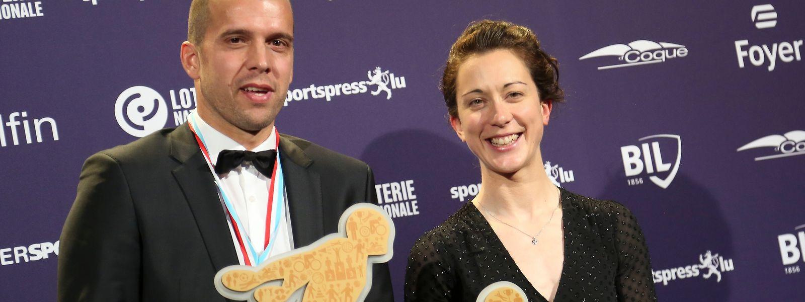 Gilles Muller und Christine Majerus verteidigten ihren Titel.