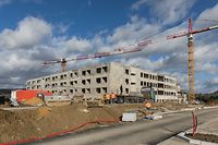 Pflegeheim Servior Baustelle, Foto: Lex Kleren/Luxemburger Wort