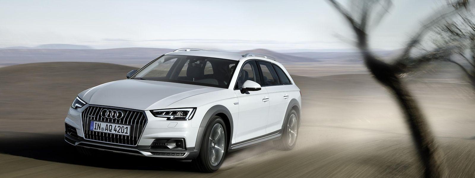 Seine Eignung fürs Gelände sieht man dem neuen Audi A4 allroad quattro auf Anhieb an. Die erhöhte Bodenfreiheit verbessert aber auch den Einstieg in den rustikalen Kombi.