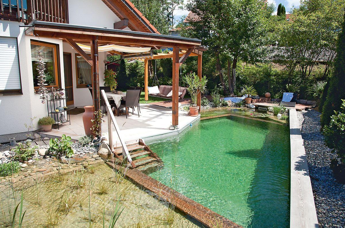 Schwimmen Auf Engem Raum Pools In Kleine Garten Bauen