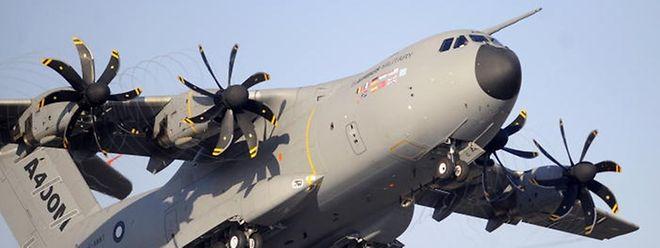 Der luxemburgische Militärtransporter des Typs A400M soll ab 2019 im Verbund mit einer belgischen Flotte zum Einsatz kommen.