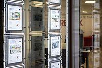 Luxtimes,Speculations prix immobilières,Illiustrationen Immobilienagenturen. Foto: Gerry Huberty/Luxemburger Wort