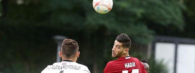 Samir Hadji (r.) und Fola haben erst zwei Punkte in vier Spielen geholt.